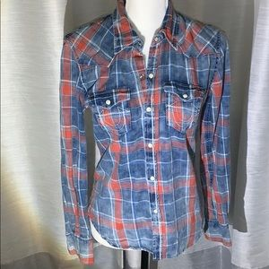 True Religion Button Down Shirt Size S